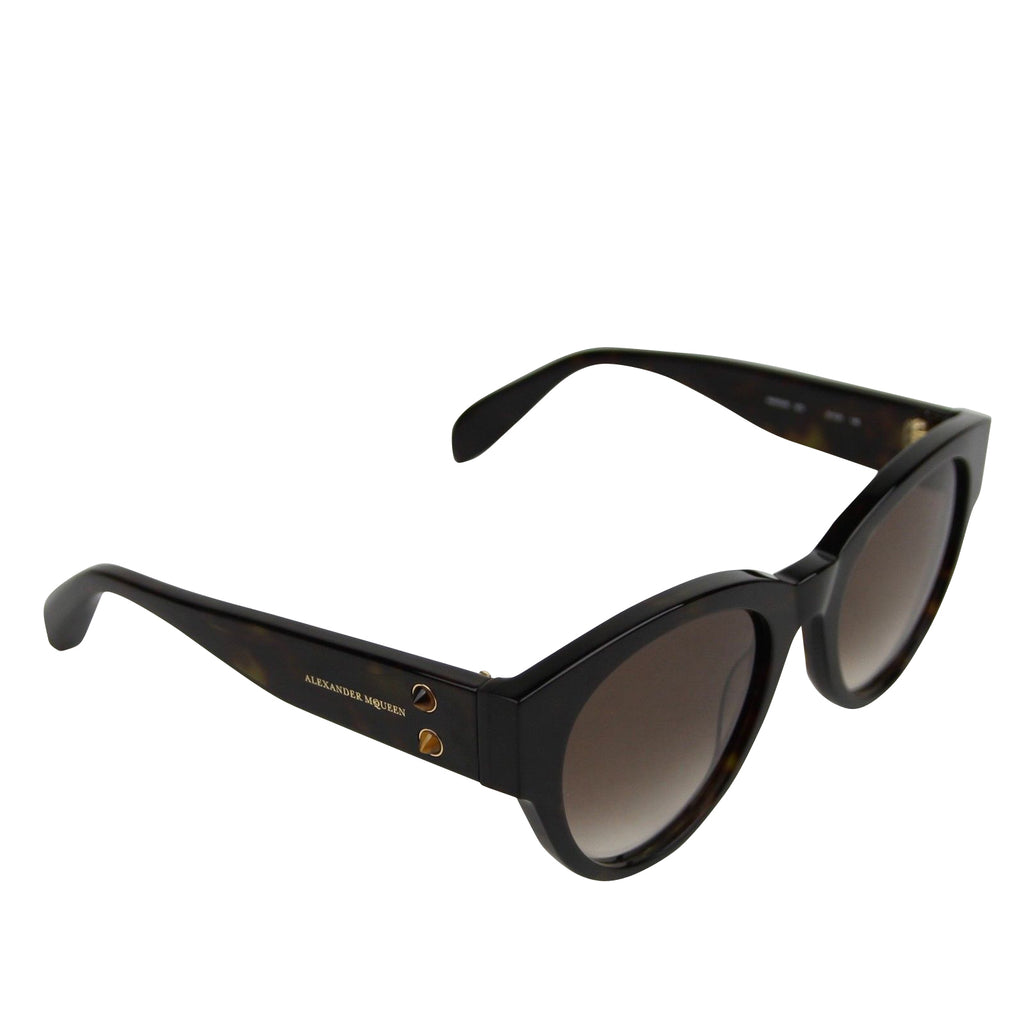 Alexander McQueen Square Sunglasses - Side Look