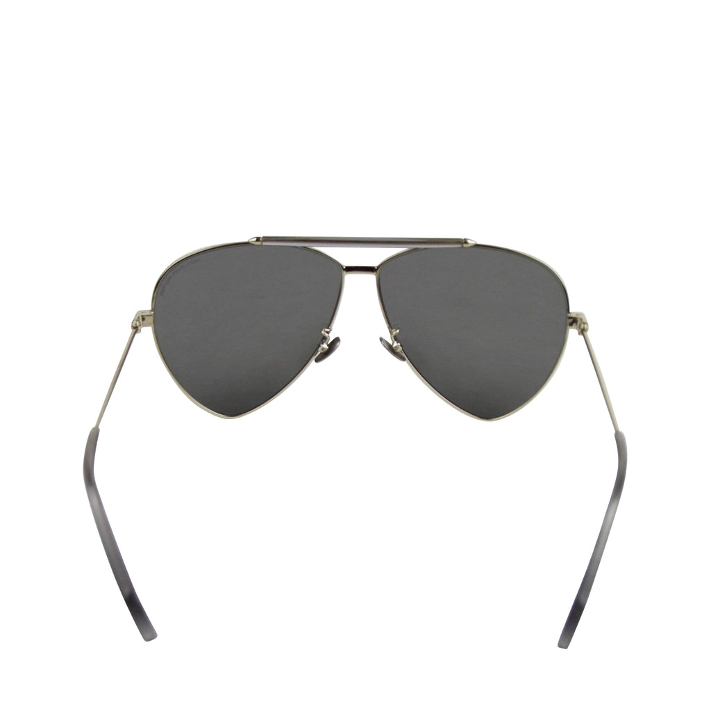 Alexander McQueen Sunglasses Unisex Blue - Back Look