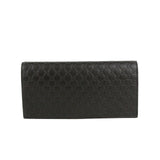 Gucci Microguccissima Brown Leather Wallet With ID window 449245 2044 - LUX LAIR
