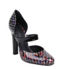 Bottega Veneta Red / Purple Patent Leather Stiletto Heel 451812 6491 (39.5 EU / 9.5 US)