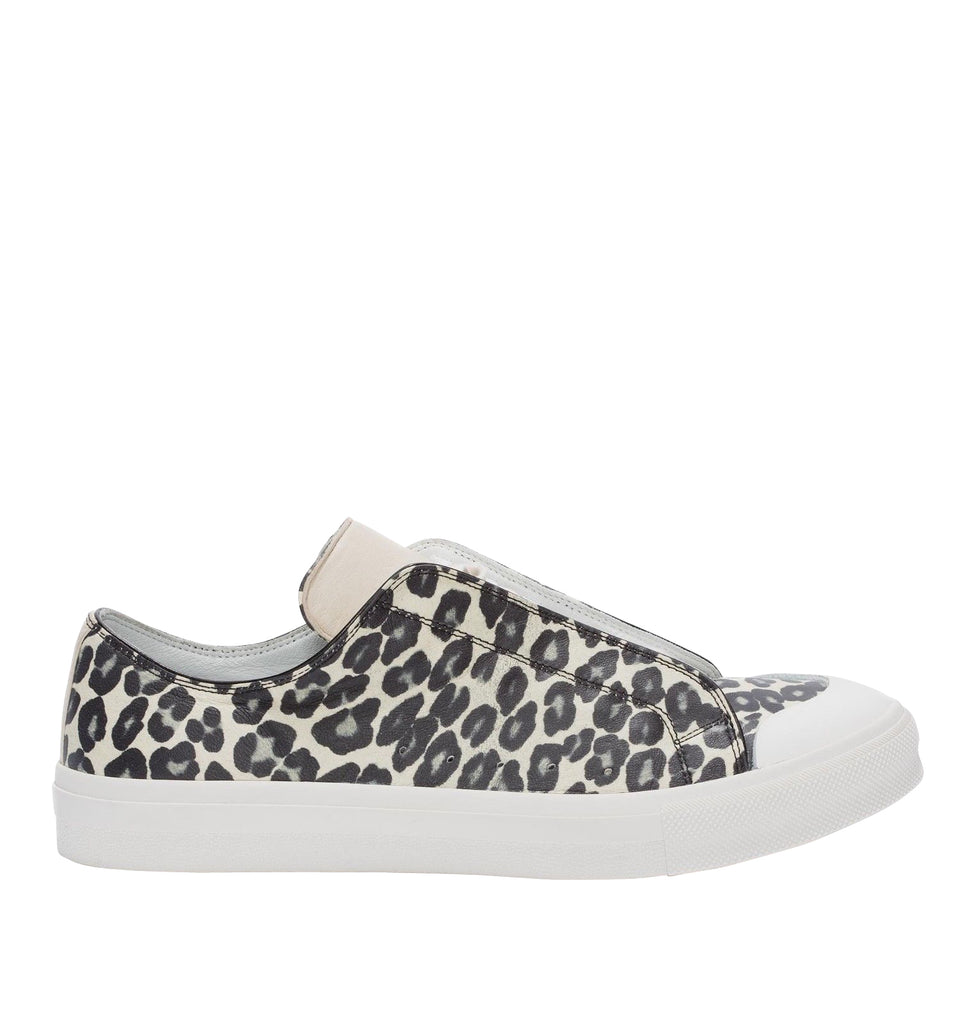 Alexander McQueen Leather Sneakers Ivory