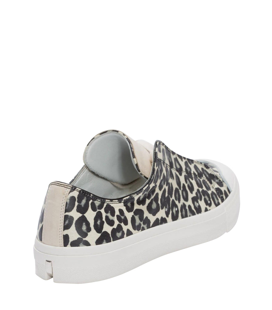 Alexander McQueen Leather Sneakers Black Ivory Color