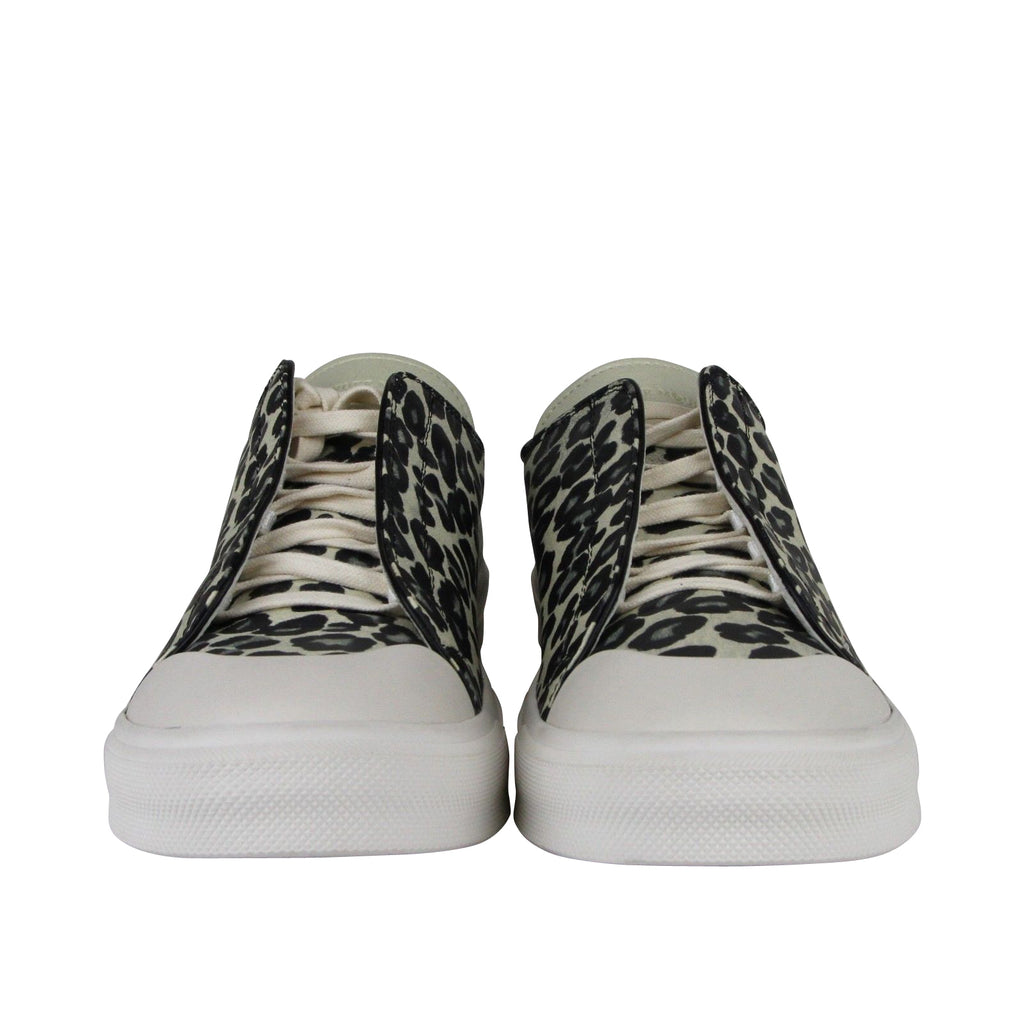 Alexander McQueen Leather Sneakers - Slip Ons Style