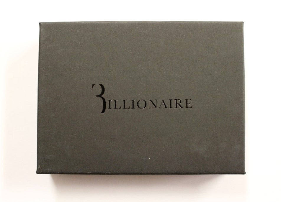 Billionaire Italian Couture Brown Leather Bifold Men's Wallet - LUX LAIR