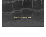 Alexander McQueen Continental Wallet Leather For Women