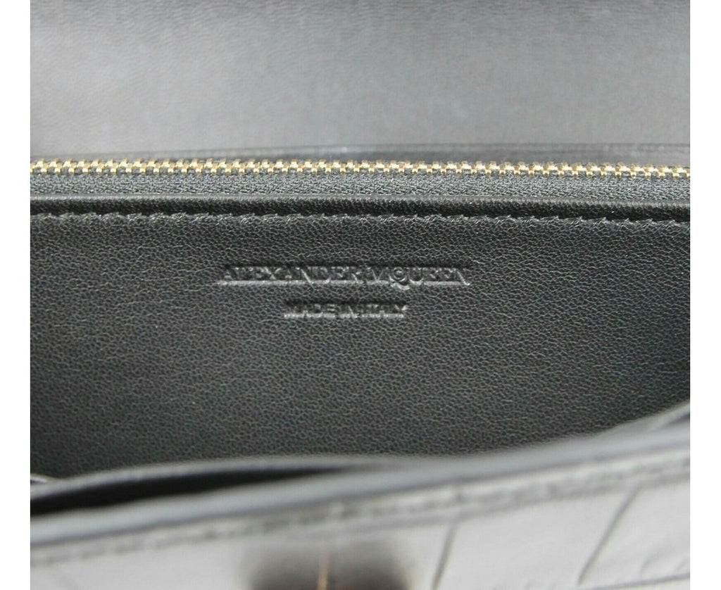 Alexander McQueen Continental Wallet - Made In Italy