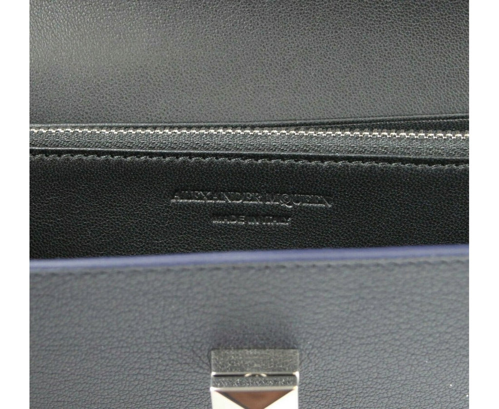Alexander McQueen Continental Wallet - Pure Leather