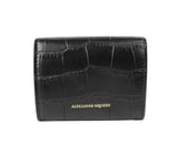 Alexander McQueen Card Holder Black Leather - 3
