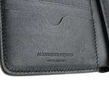 Alexander McQueen Coin Purse Leather - Made In Italy