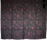 Alexander McQueen Scarf Multiskull Print For Women
