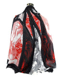Alexander McQueen Shawl Eve Of Harness Print Modal