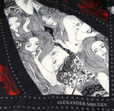 Alexander McQueen Shawl Eve Of Harness Print - Front Look