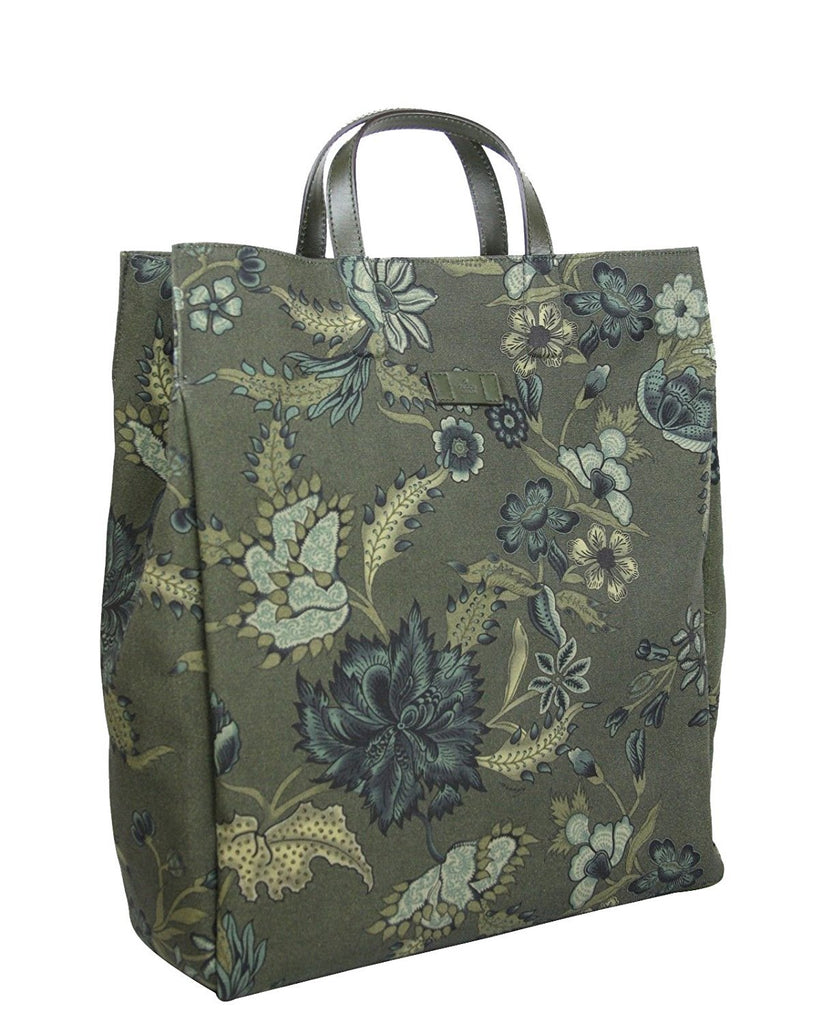 Gucci Unisex Floral Fabric Top Handle Tote Bag 341739