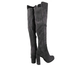 Stuart Weitzman Women's Alljill Anthracite Suede Over The Knee Boot