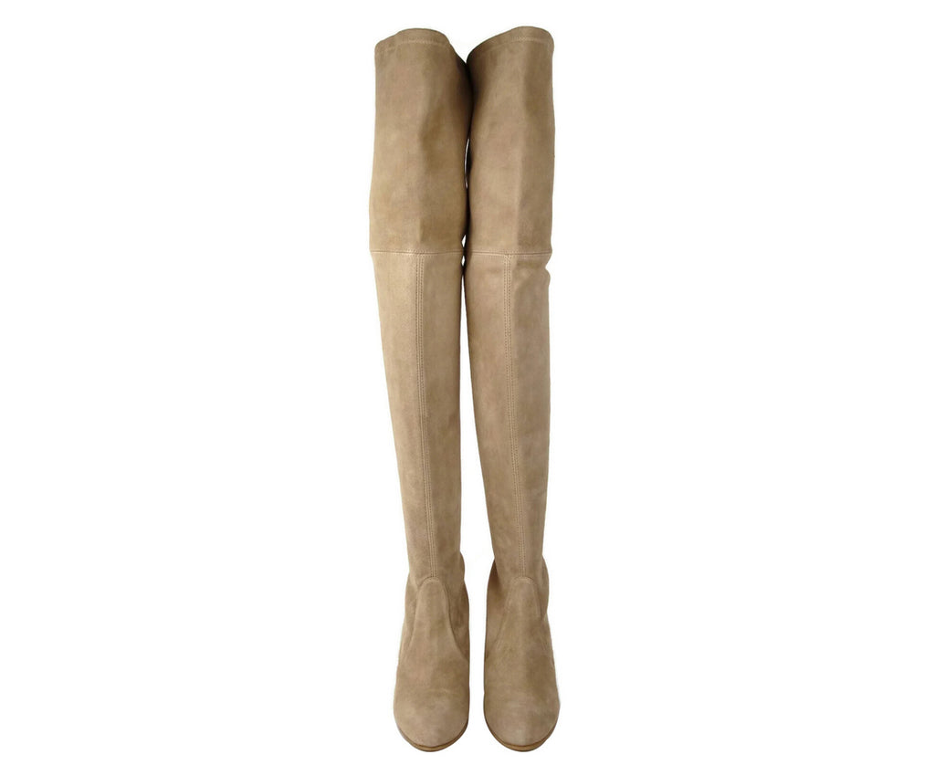 Stuart Weitzman Highland Mojave Suede Over-the-knee Boot - LUX LAIR