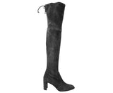 Stuart Weitzman Landmark Slate Suede Over-the-knee Boot