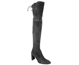 Stuart Weitzman Women's Landmark Slate Suede Over-the-knee Boot - LUX LAIR
