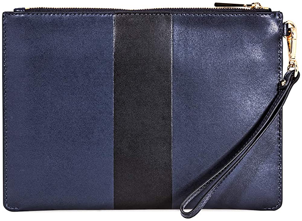Michael Kors Medium Zip Pouch Leather - Back Look