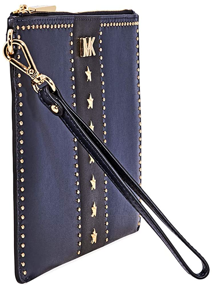 Michael Kors Medium Zip Pouch Leather - Side Look