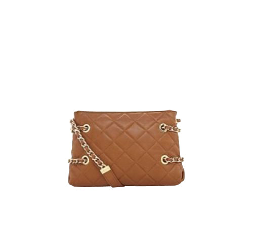 Michael Kors Messenger Bag Brown Leather