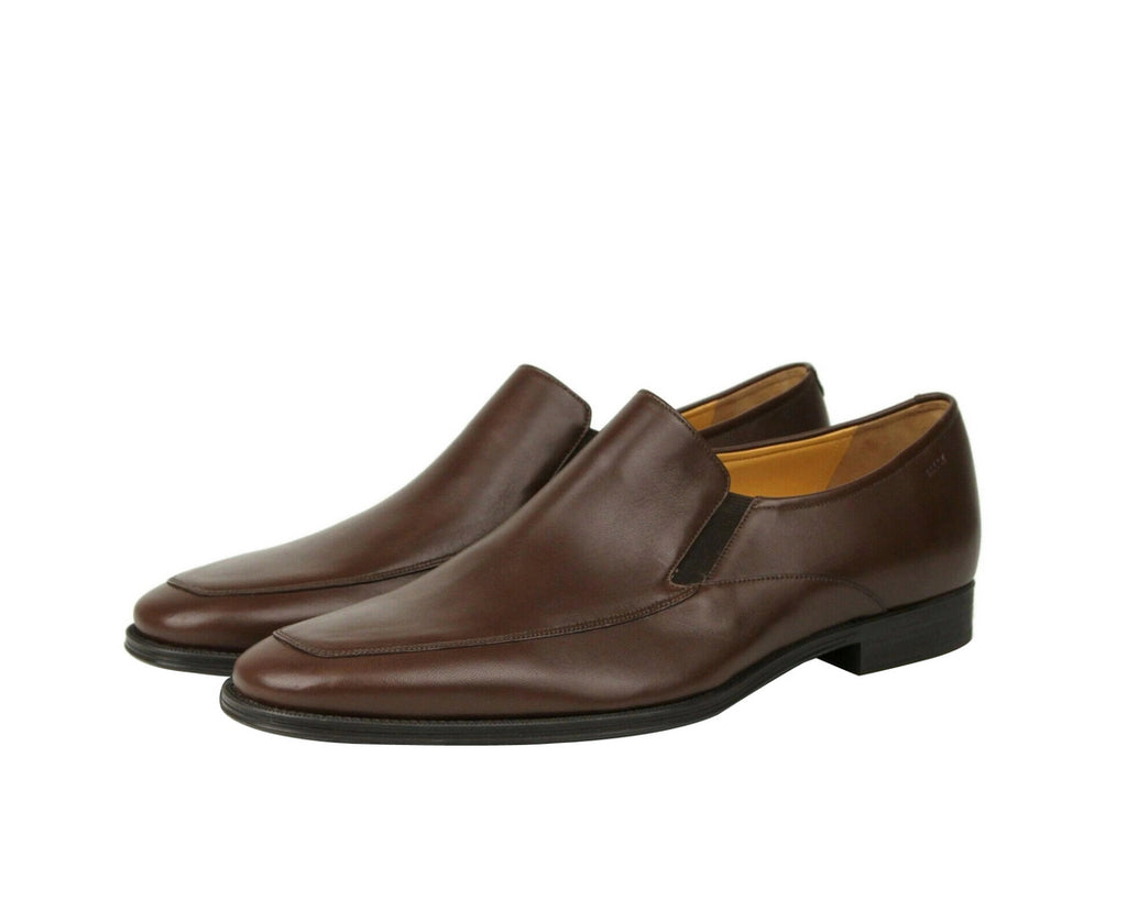 Bally Slip On Loafers Calf Leather - Pair Side Look