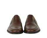 Bally Slip On Loafers Calf Leather - Pair Front Look