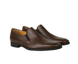 Bally Slip On Loafers Calf Leather - Brown Color
