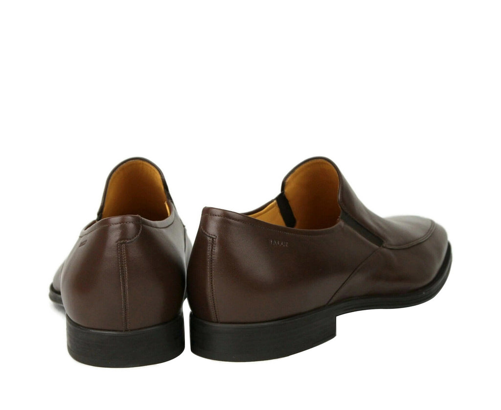 Bally Slip On Loafers Calf Leather - Pair Back Look