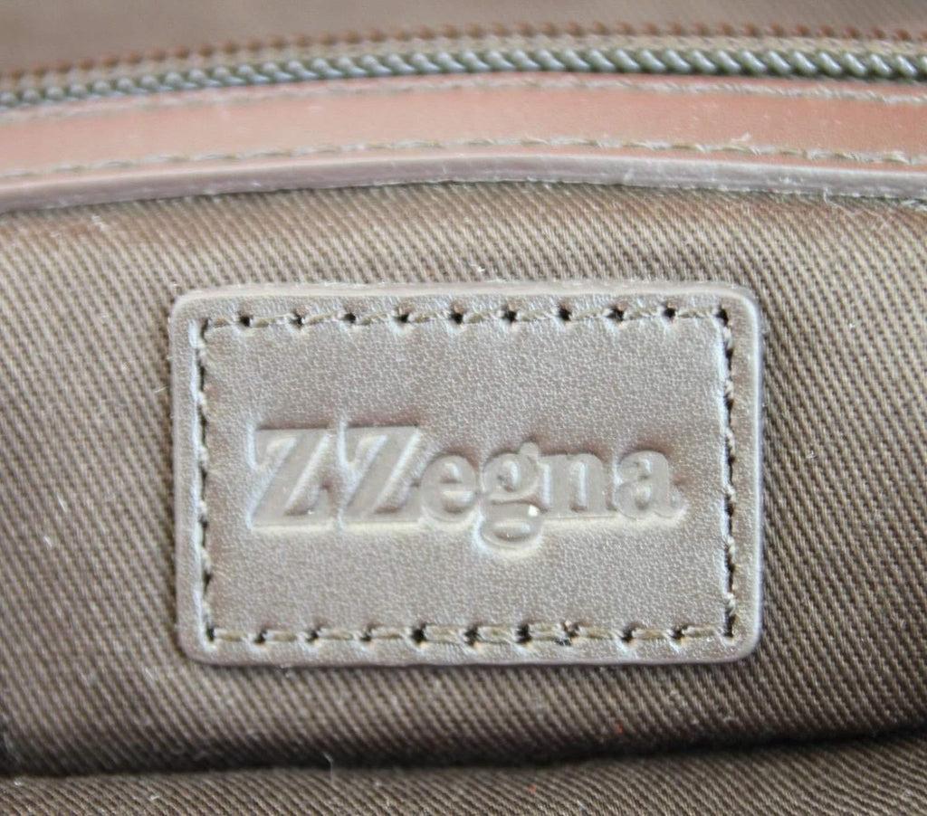 Z Zegna Unisex Canvas Messenger Bag - LUX LAIR