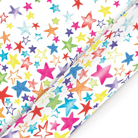 Roll Wrap Painted Stars