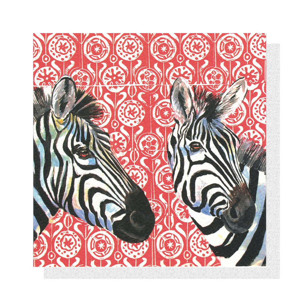 Zebras on Blockprint
