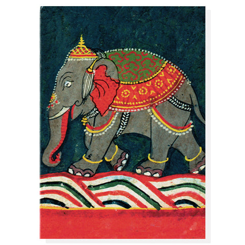 Caparisoned Elephant