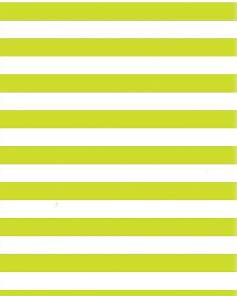 Roll Wrap Stripe Lime Green