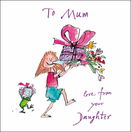 To Mum love from your Daughter