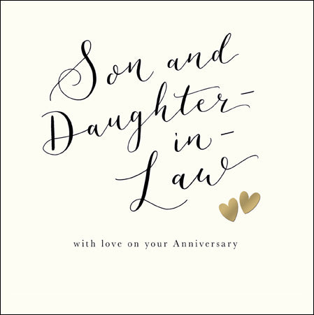 Son and Daughter-in-law Anniversary
