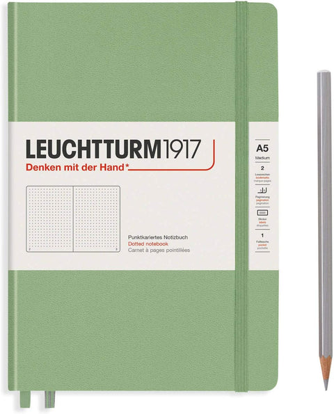 Leuchtturm 1917 Notebook Medium Dotted Sage