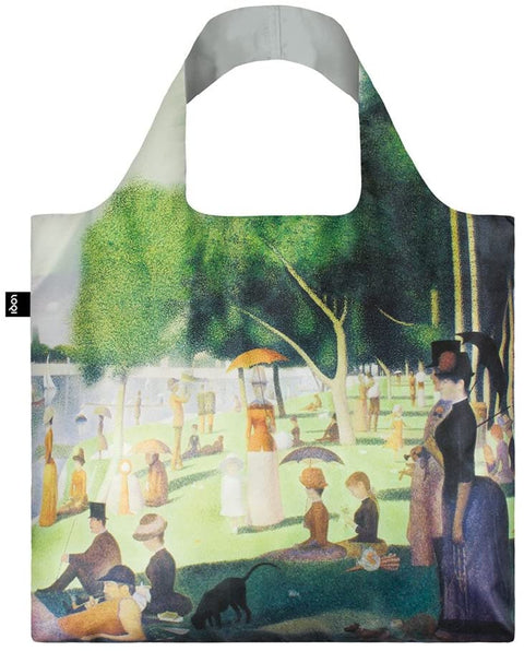 Loqi Seurat A Sunday on the Island Tote Bag