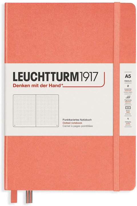 Leuchtturm 1917 Hardcover Notebook Medium Dotted Bellini