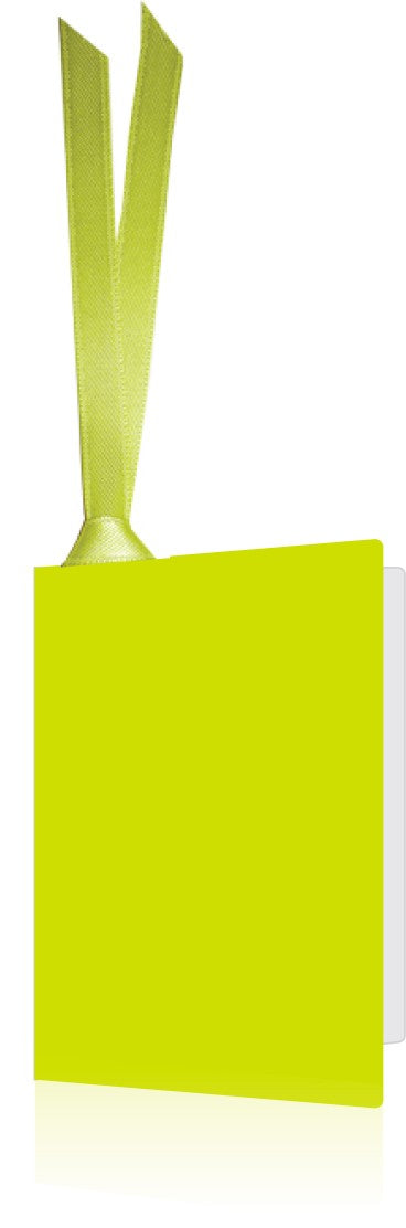 Gift Tag Lime Green