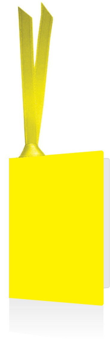 Gift Tag Yellow