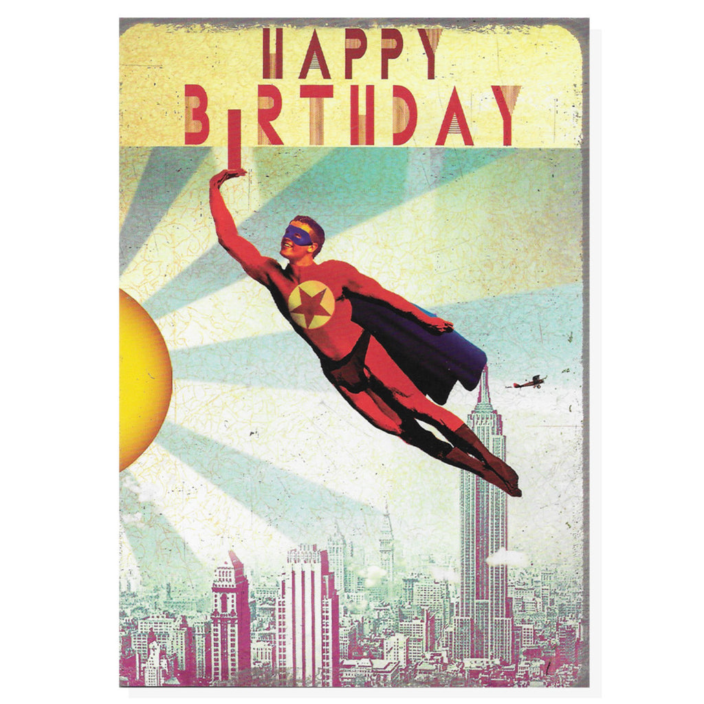 Happy Birthday Superhero
