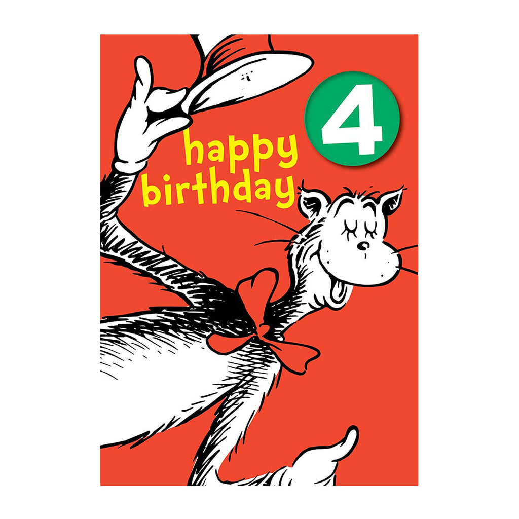 Happy 4th Birthday Dr Seuss