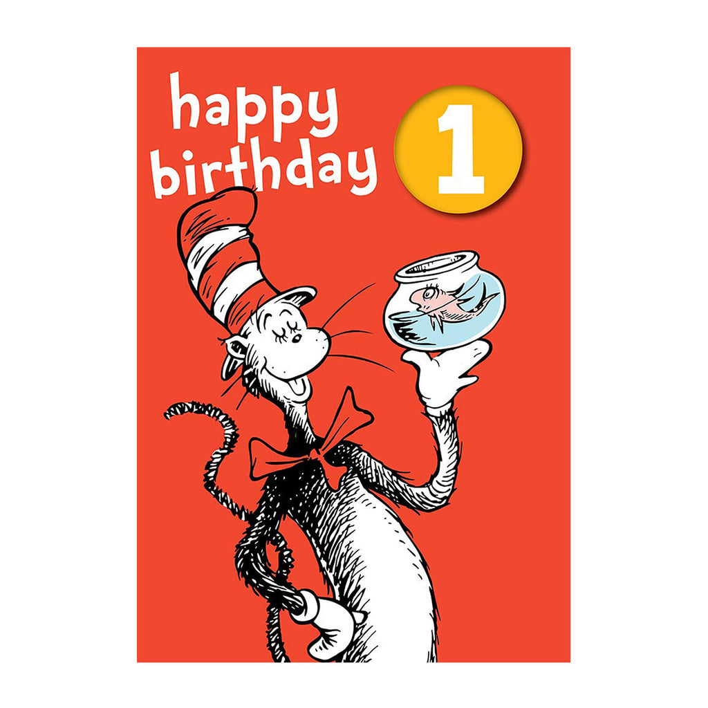 Happy 1st Birthday Dr Seuss