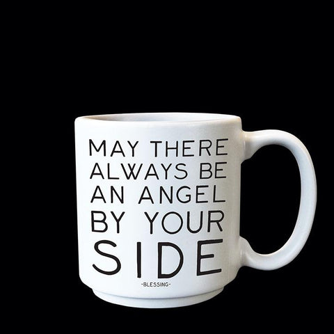 Angel By Your Side Espresso Mug