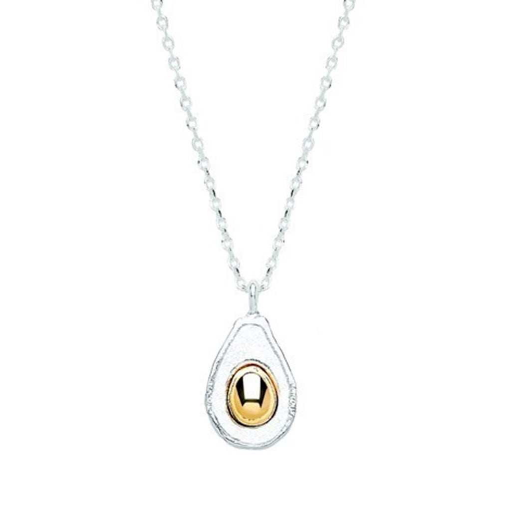 Estella Bartlett Avocado Gold and Silver Plated Necklace