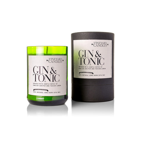 Gin & Tonic Natural Wax Luxury Candle Small