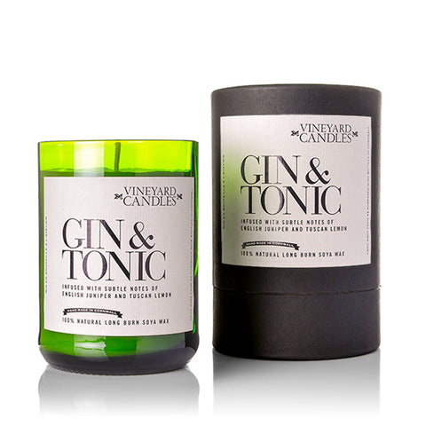 Gin & Tonic Natural Wax Candle