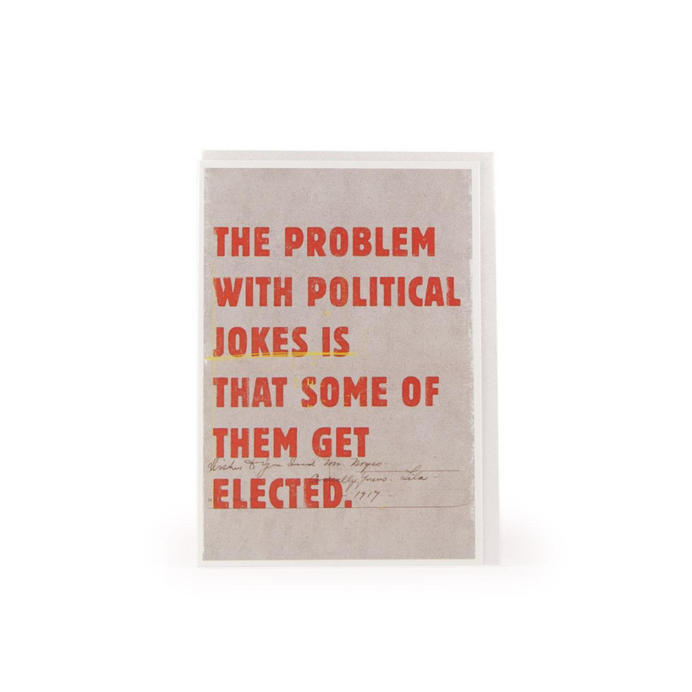 The Problem With Political Jokes