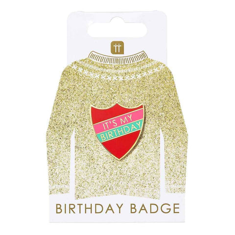 'It's My Birthday' Birthday Badge