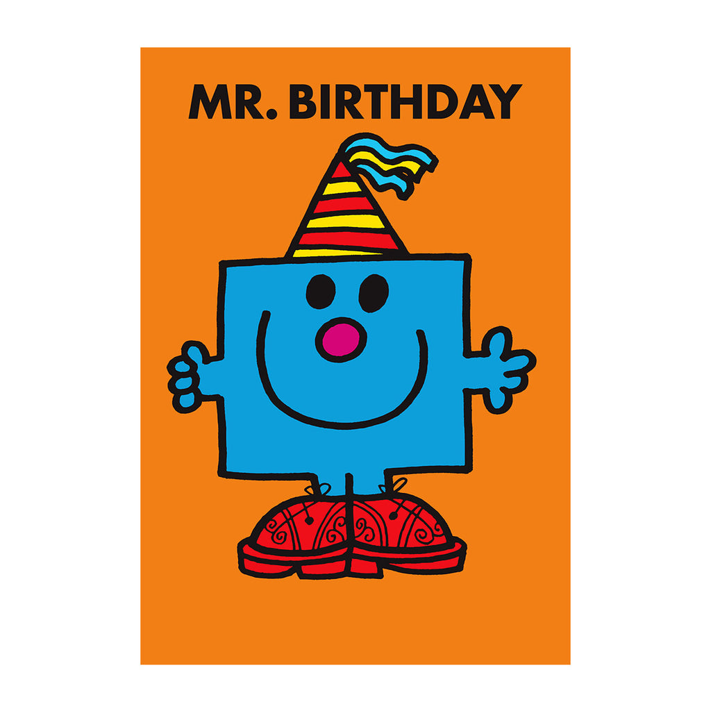 Mr Men Mini Card